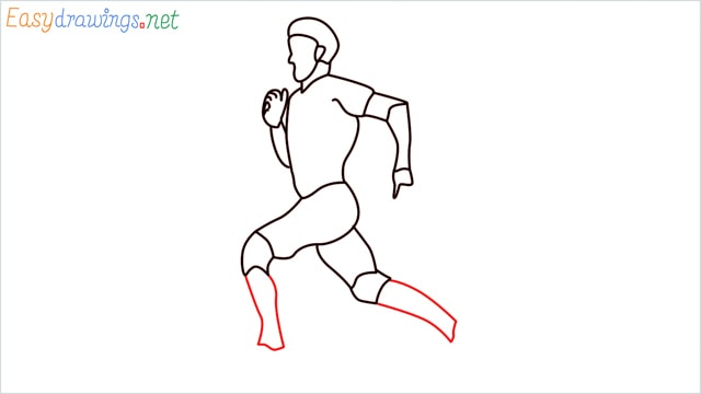 how to draw a runner step (13)