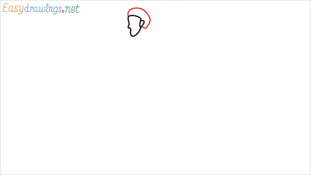 how to draw a runner step (3)