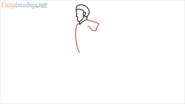 how to draw a runner step (5)