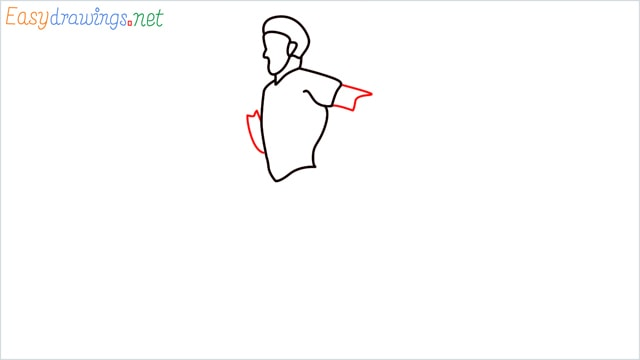 how to draw a runner step (7)