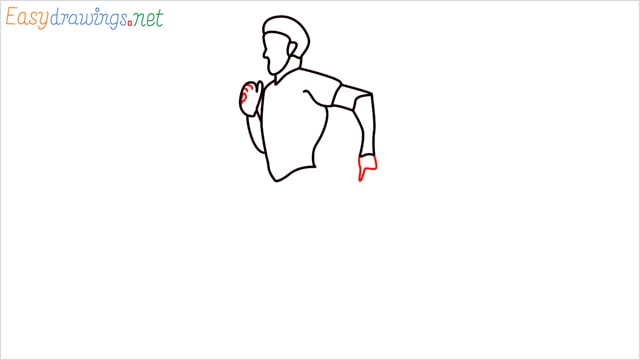 how to draw a runner step (9)