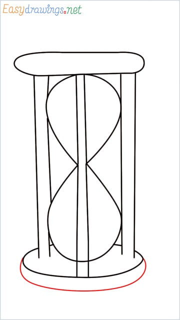 how to draw an hourglass step (5)