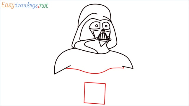 how to draw darth vader step (10)