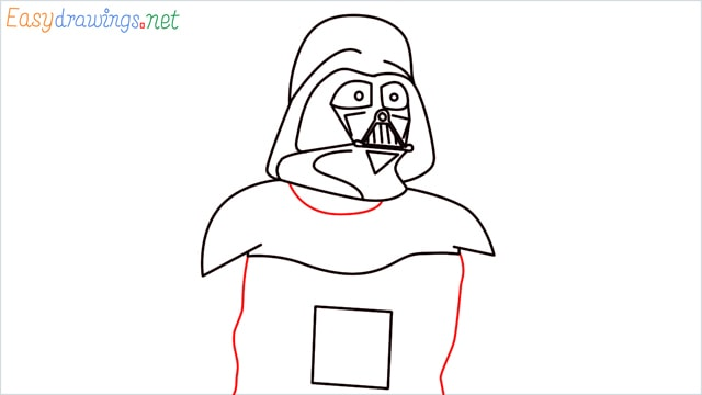 how to draw darth vader step (11)
