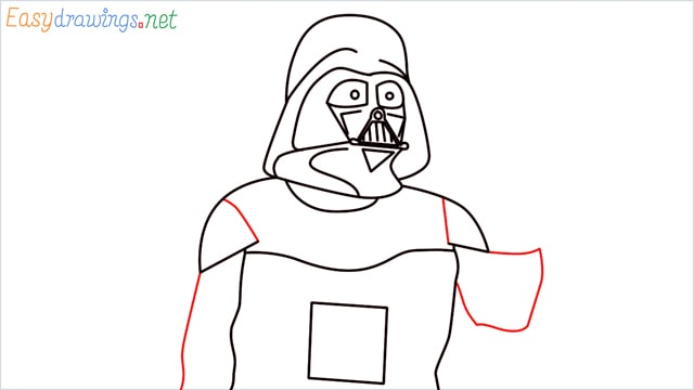 how to draw darth vader step (12)