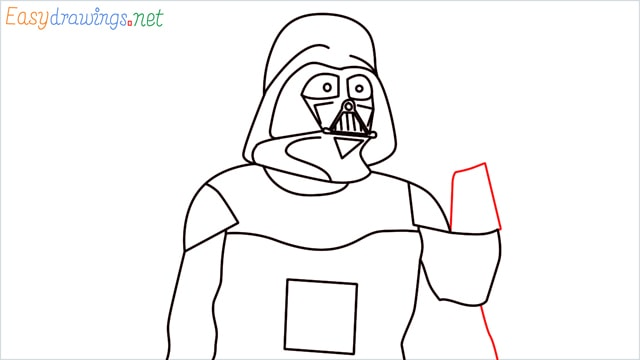 how to draw darth vader step (13)