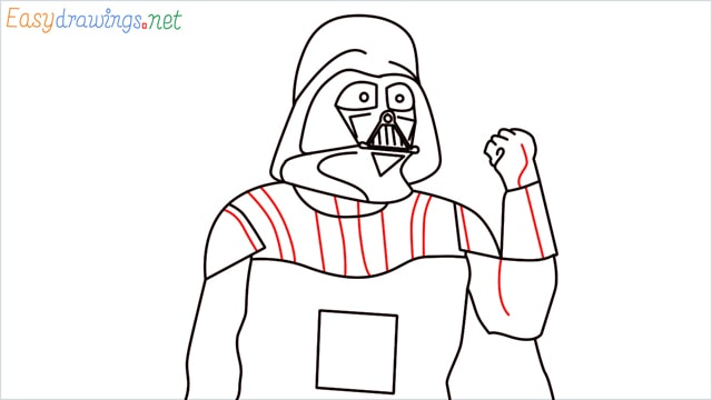 how to draw darth vader step (15)