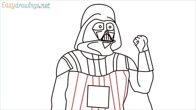 how to draw darth vader step (16)