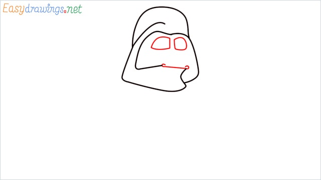 how to draw darth vader step (4)