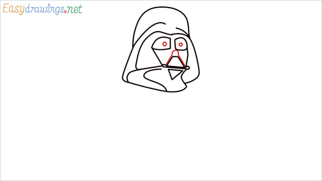 how to draw darth vader step (7)