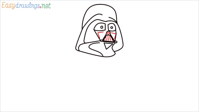 how to draw darth vader step (8)