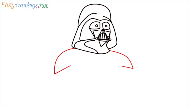 how to draw darth vader step (9)
