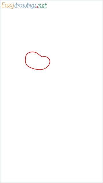 how to draw oggy step (1)