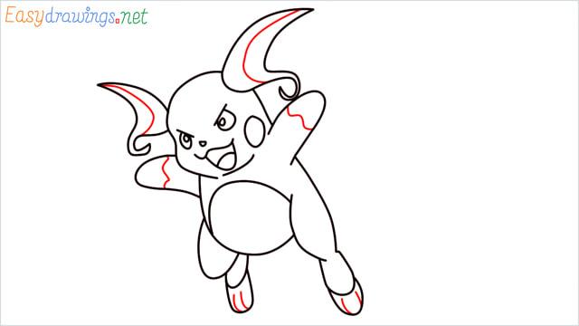 How to Draw Raichu step (11)