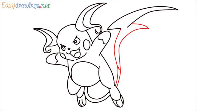 How to Draw Raichu step (13)