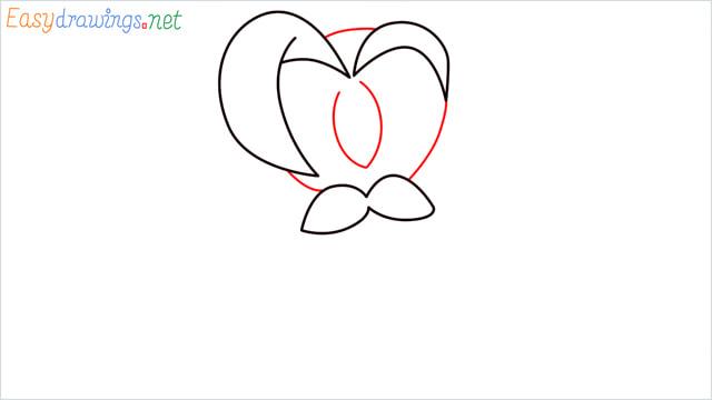 How to draw Dartrix step (3)