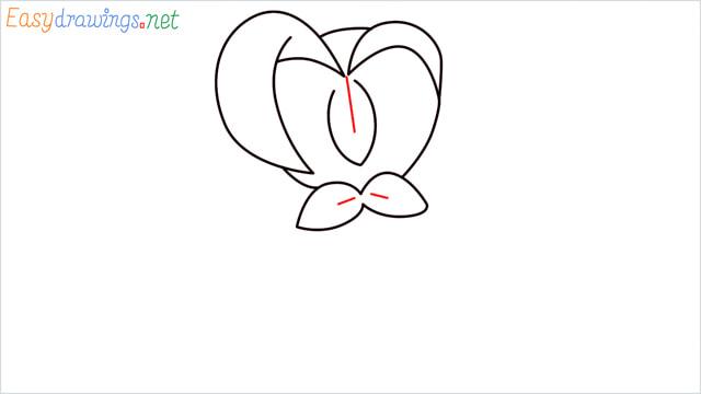 How to draw Dartrix step (4)