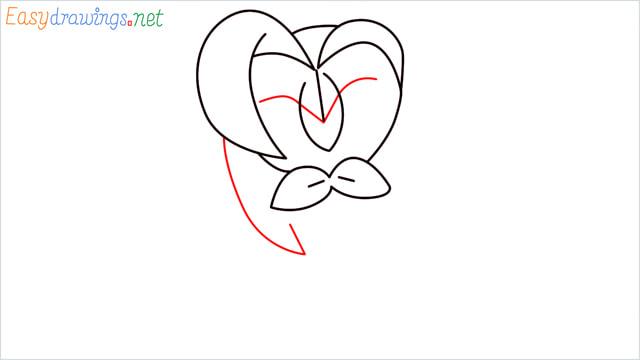 How to draw Dartrix step (5)