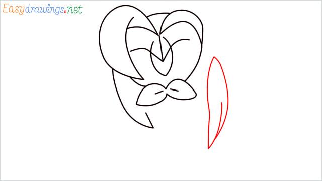 How to draw Dartrix step (6)