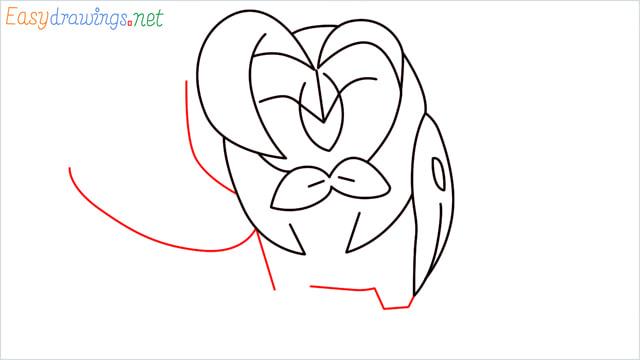 How to draw Dartrix step (8)