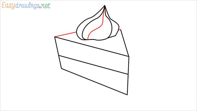 How to draw a Pie step (5)