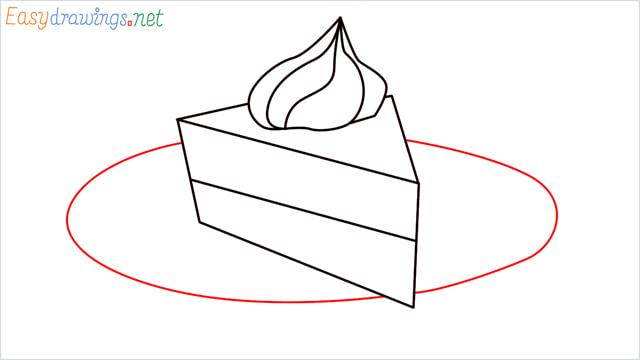How to draw a Pie step (6)