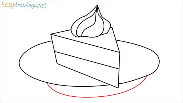 How to draw a Pie step (7)