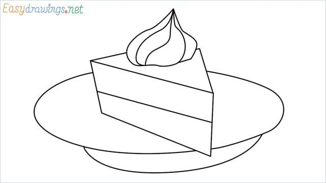 How to draw a Pie step by step