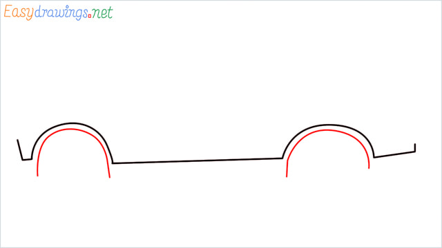 How to draw a SUV Gloster car step (2)