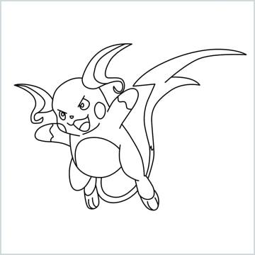 Raichu drawing