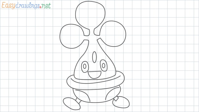Bonsly grid line drawing