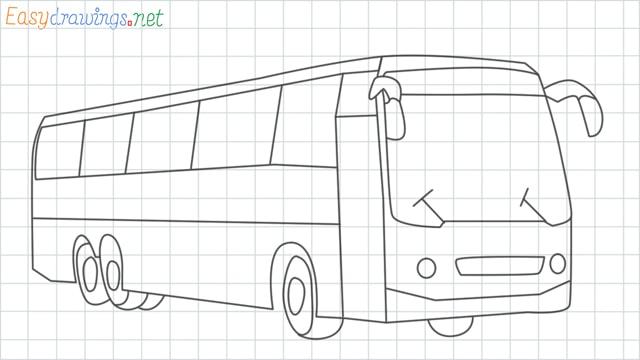 Bus grid line drawing