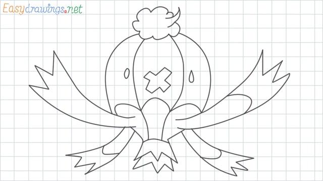 Drifblim grid line drawing