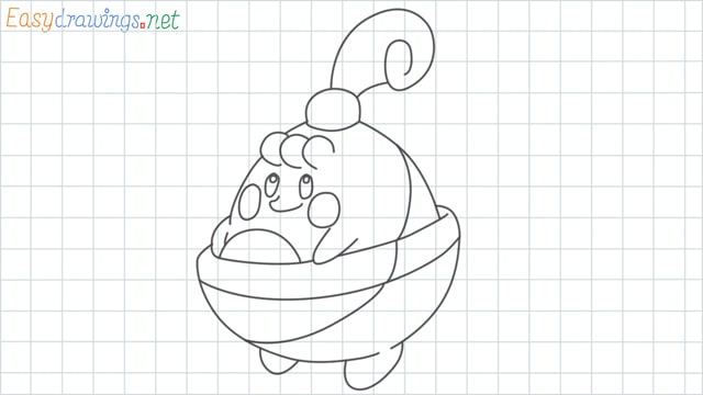 Happiny grid line drawing