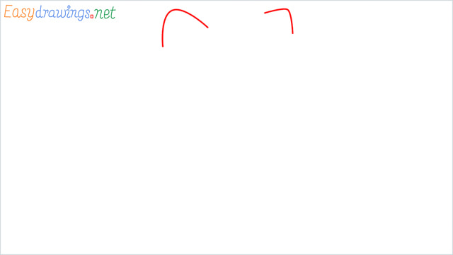 How to draw the Hello Kitty step (1)