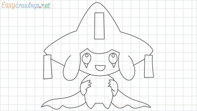 Jirachi grid line drawing