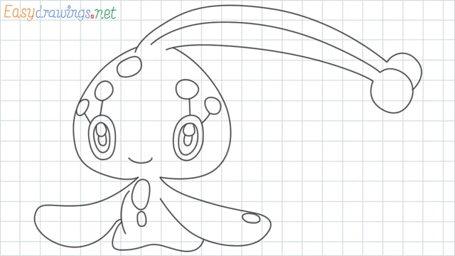Manaphy grid line drawing