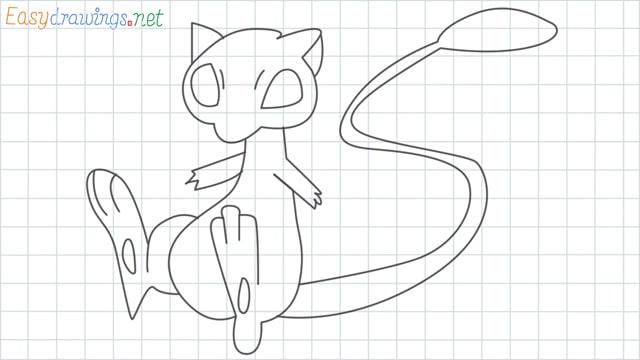 Mew grid line drawing