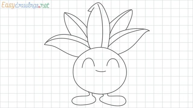 Oddish grid line drawing