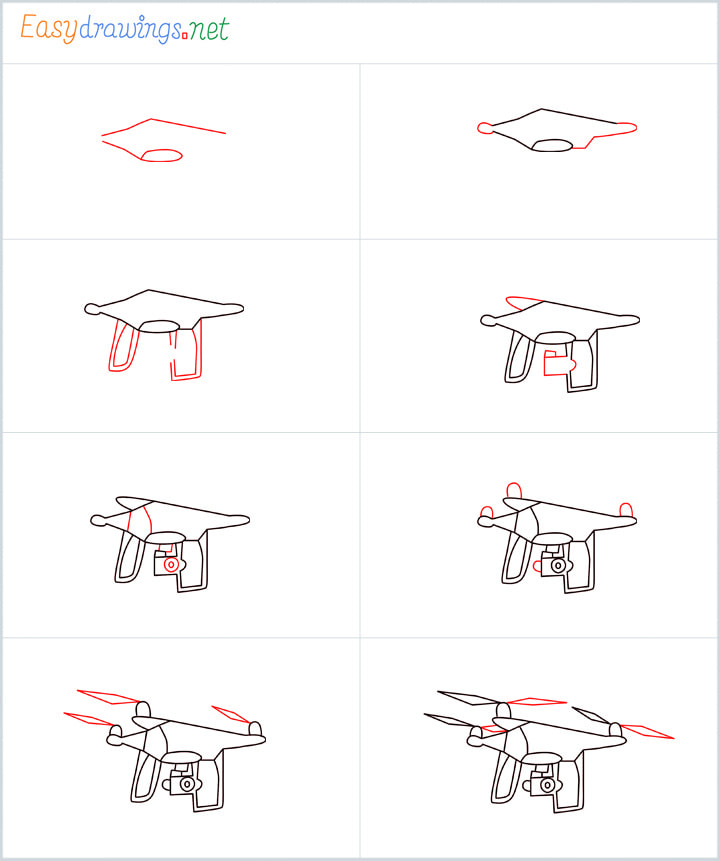 Overview added for Drone drawing