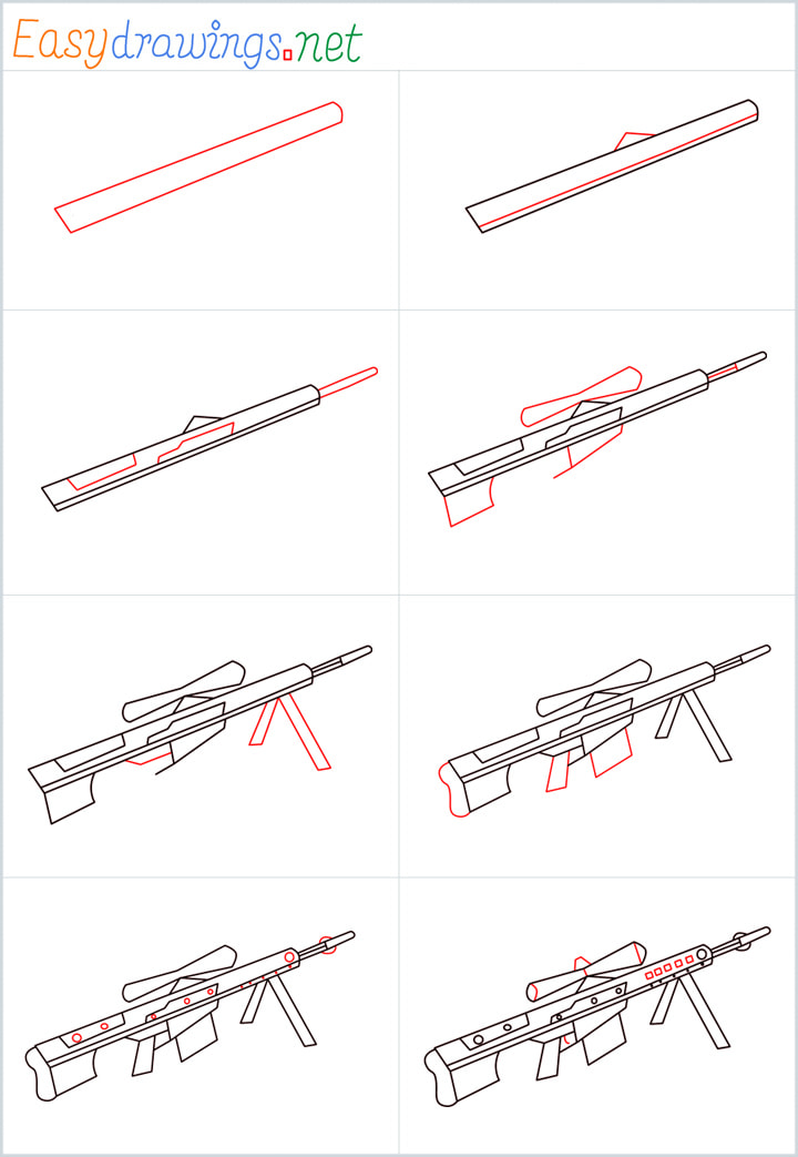 Overview added for Sniper M82 drawing