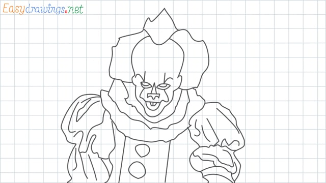 Pennywise grid line drawing