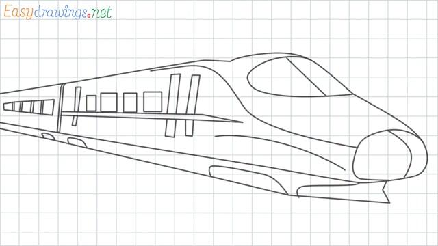 Train grid line drawing