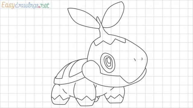 Turtwig grid line drawing
