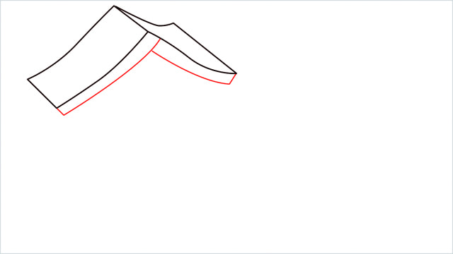 How to Draw a Gingerbread House step (3)