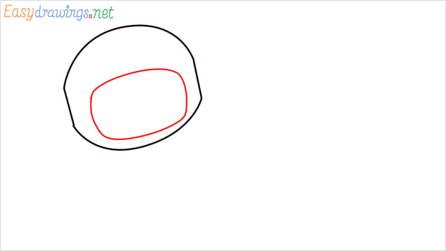 How to draw An astronaut step (3)