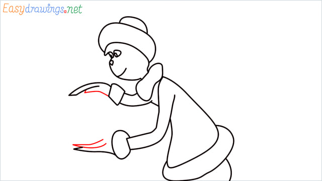 How to draw The grinch step (10)