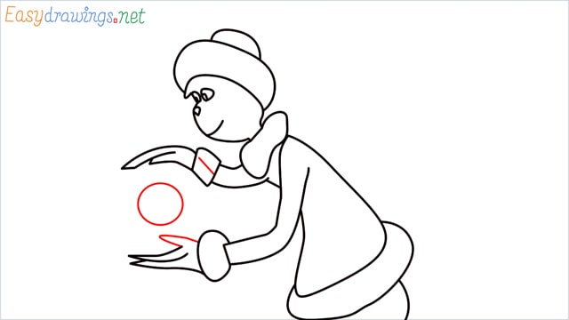 How to draw The grinch step (11)