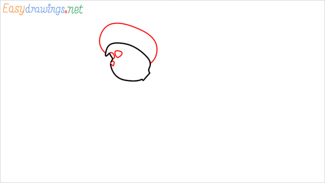 How to draw The grinch step (3)