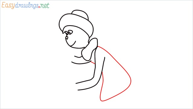 How to draw The grinch step (7)
